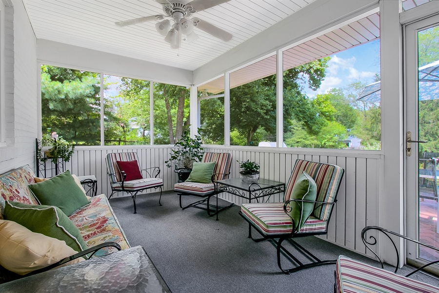 Real Estate Photography - 3112 Centerville Rd, Greenville, DE, 19807 - Screened Porch - View 1