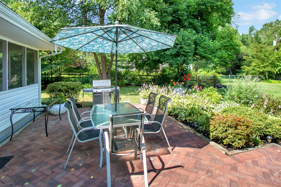 Real Estate Photography - 3112 Centerville Rd, Greenville, DE, 19807 - Upper Level Patio - View 1