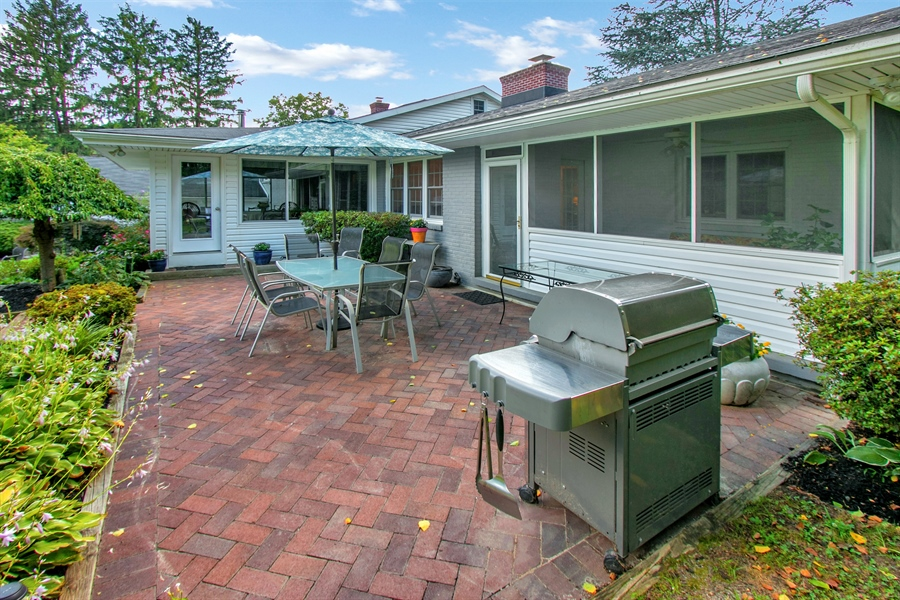 Real Estate Photography - 3112 Centerville Rd, Greenville, DE, 19807 - Upper Level Patio - View 2