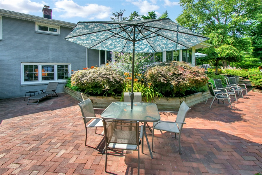 Real Estate Photography - 3112 Centerville Rd, Greenville, DE, 19807 - Lower Level Patio - View 1