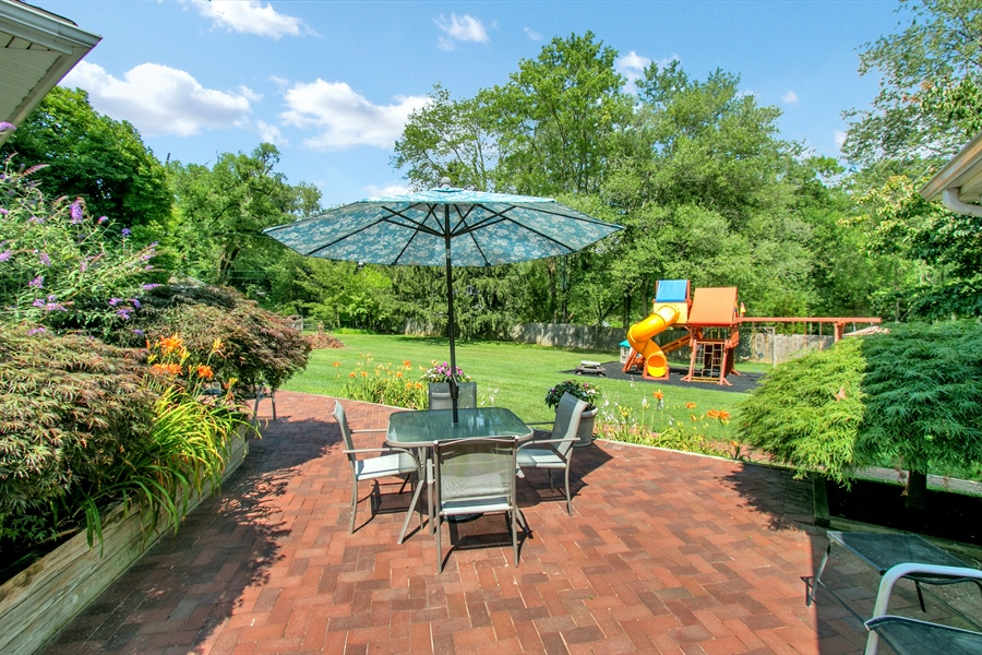 Real Estate Photography - 3112 Centerville Rd, Greenville, DE, 19807 - Lower Level Patio - View 2