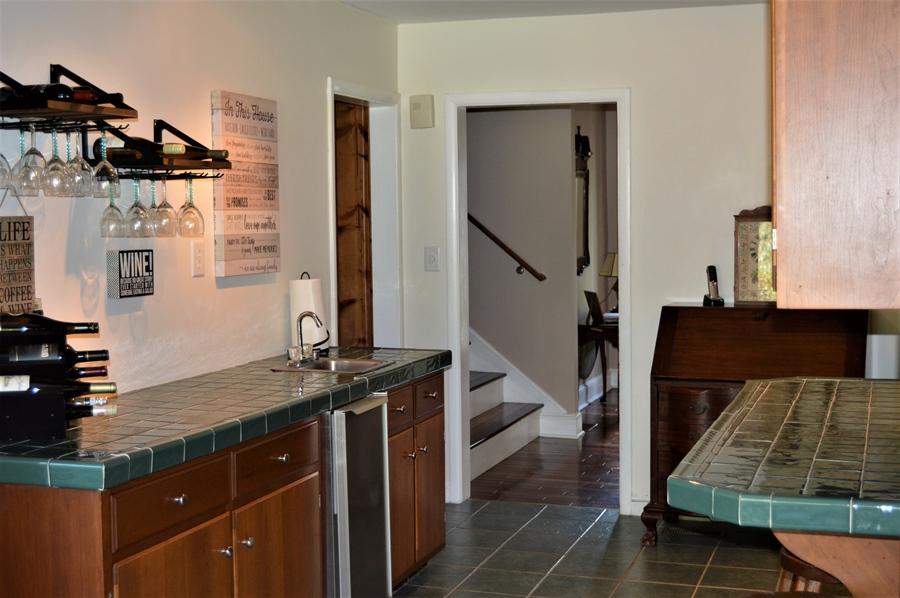 Real Estate Photography - 3112 Centerville Rd, Greenville, DE, 19807 - Bar Area View Toward Foyer