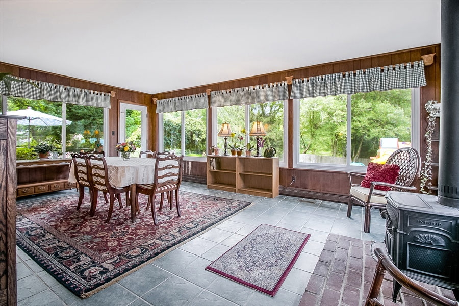 Real Estate Photography - 3112 Centerville Rd, Greenville, DE, 19807 - Sunroom