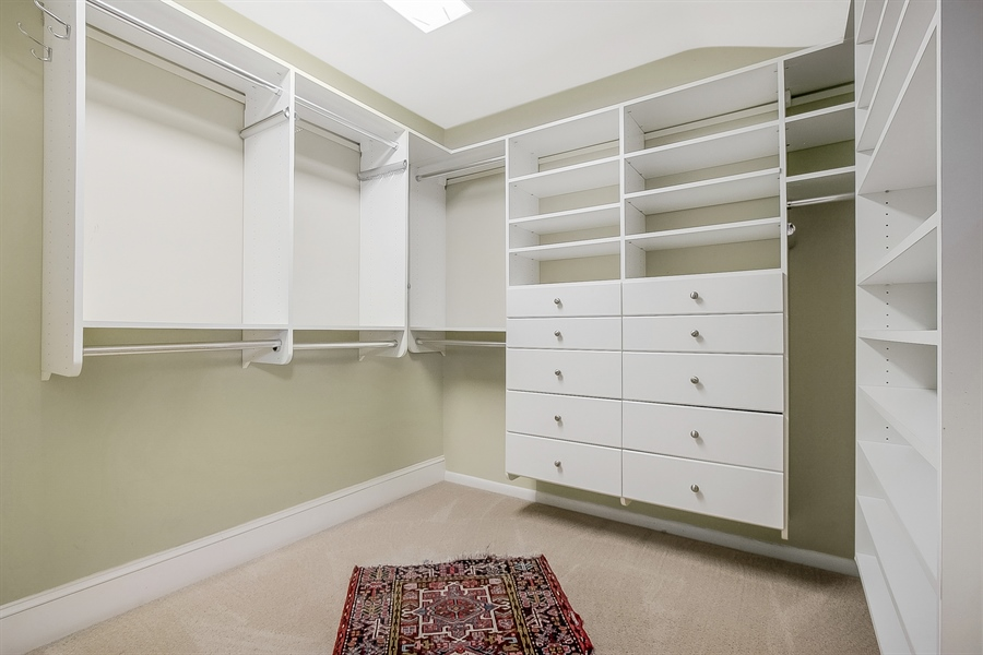 Real Estate Photography - 3112 Centerville Rd, Greenville, DE, 19807 - Master Bedroom - Walk-In Closet