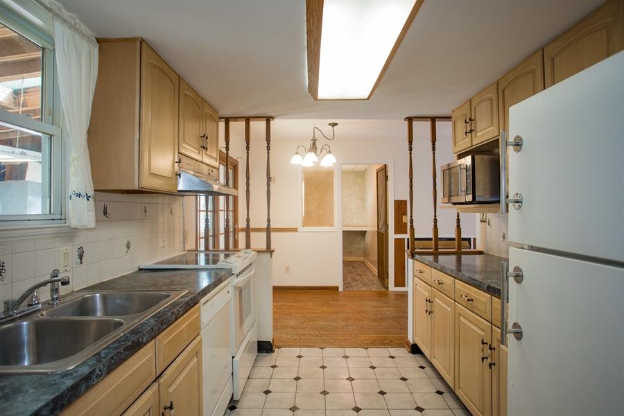 Real Estate Photography - 14 E Clairmont Dr, Newark, DE, 19702 - kitchen with tile floor