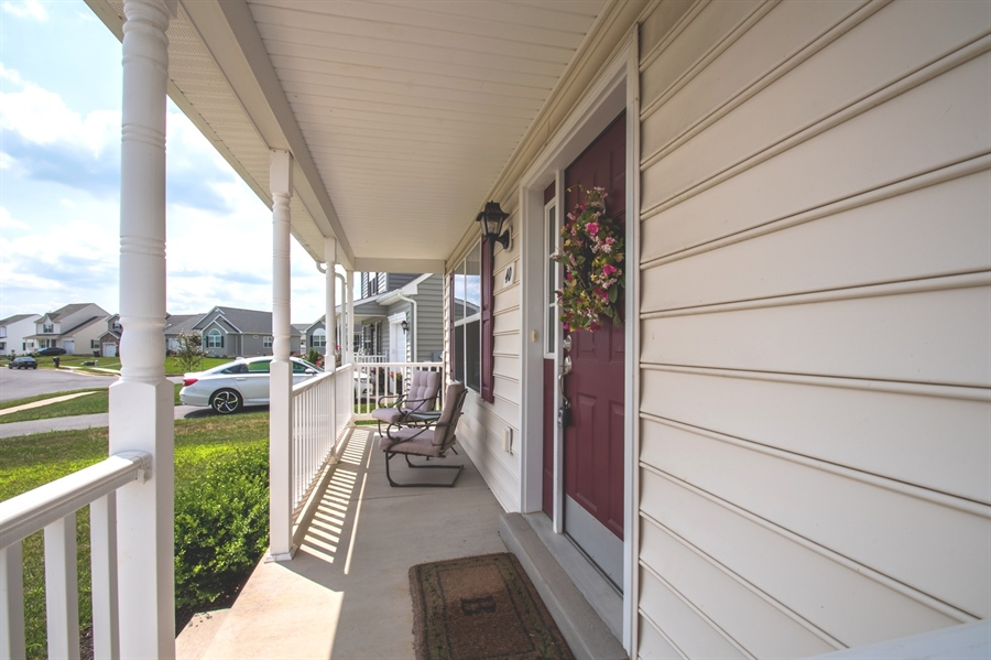 Real Estate Photography - 40 Lawrence Ln, Smyrna, DE, 19977 - Charming Front Porch