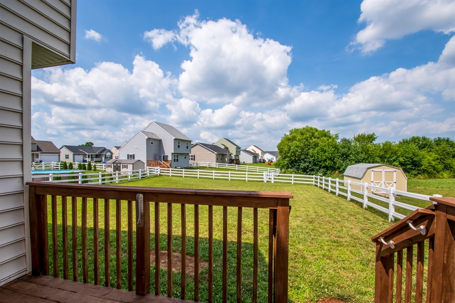Real Estate Photography - 40 Lawrence Ln, Smyrna, DE, 19977 - View From Deck