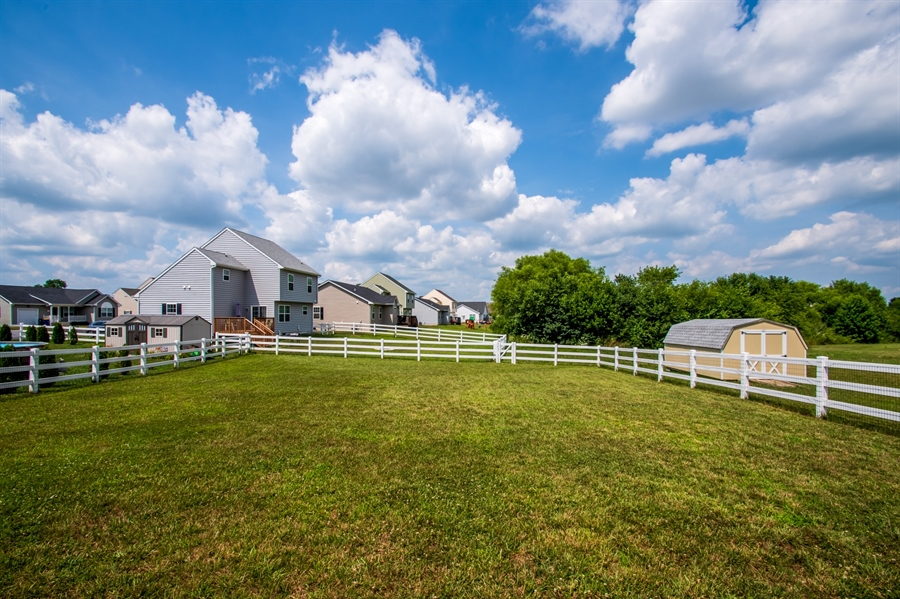 Real Estate Photography - 40 Lawrence Ln, Smyrna, DE, 19977 - Premium Lot with Fence