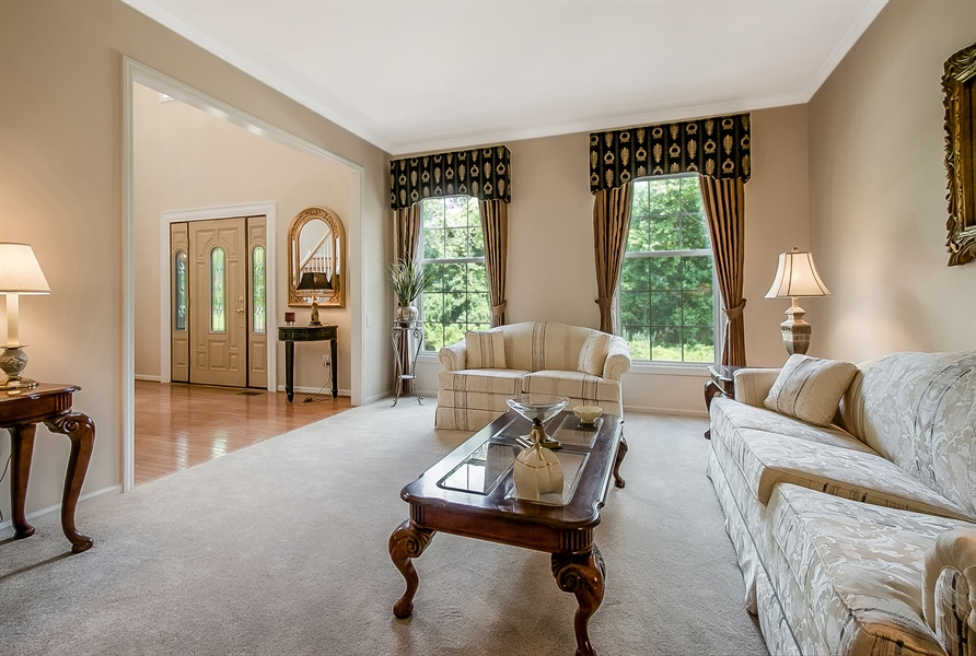 Real Estate Photography - 512 Thorndale Dr, Hockessin, DE, 19707 - Enjoy The Views From The Large Windows!