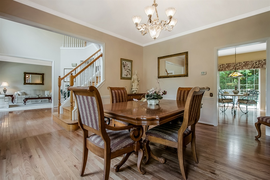 Real Estate Photography - 512 Thorndale Dr, Hockessin, DE, 19707 - Your Dinner Guests Will Be Impressed!