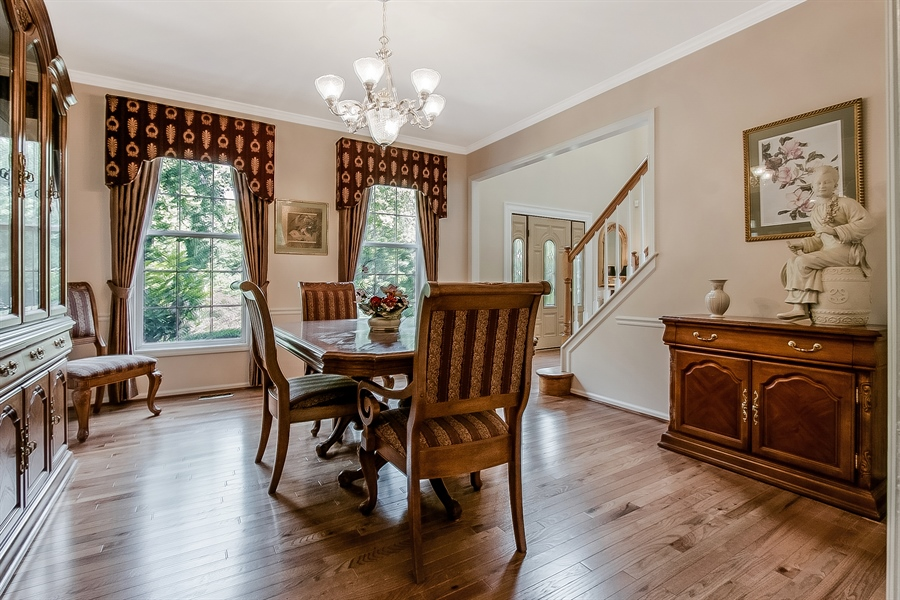 Real Estate Photography - 512 Thorndale Dr, Hockessin, DE, 19707 - Another View Of The Dining Room