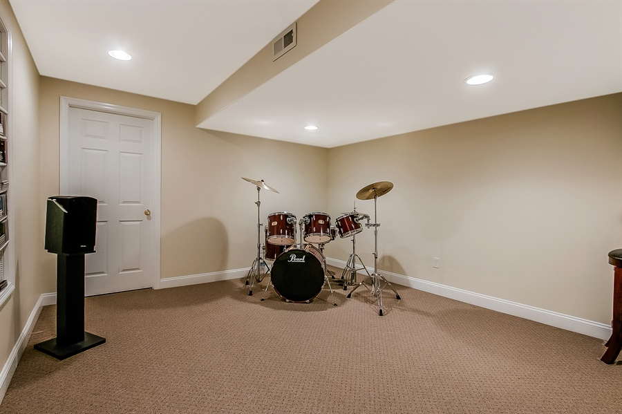 Real Estate Photography - 512 Thorndale Dr, Hockessin, DE, 19707 - Additional Lower Level Room