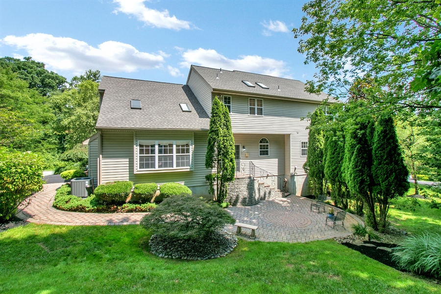 Real Estate Photography - 512 Thorndale Dr, Hockessin, DE, 19707 - Back Of The House And Its Park-Like Lot