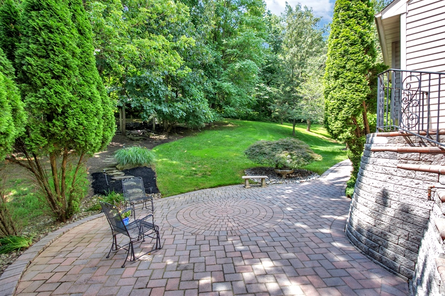 Real Estate Photography - 512 Thorndale Dr, Hockessin, DE, 19707 - Another Patio And Back Yard View