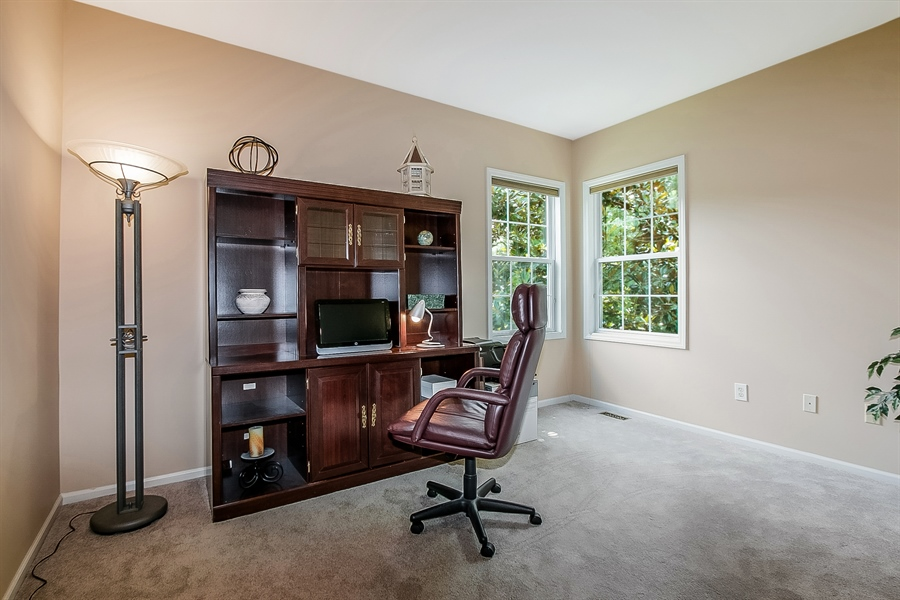 Real Estate Photography - 512 Thorndale Dr, Hockessin, DE, 19707 - Handsome, Large Main Level Study