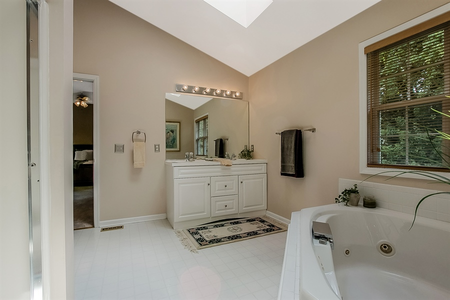 Real Estate Photography - 512 Thorndale Dr, Hockessin, DE, 19707 - Another Master Bath View...So Private!