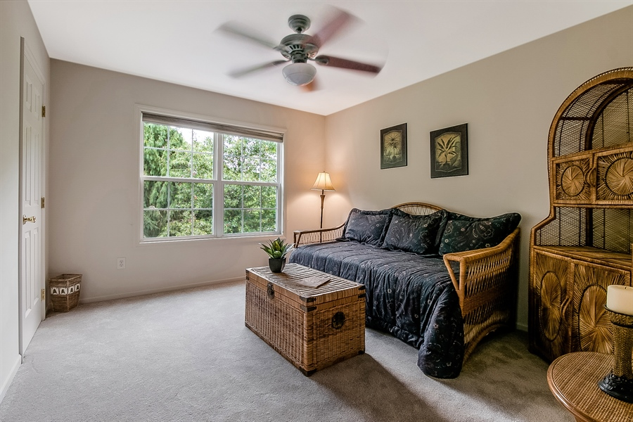 Real Estate Photography - 512 Thorndale Dr, Hockessin, DE, 19707 - Fourth Bedroom With Double Windows