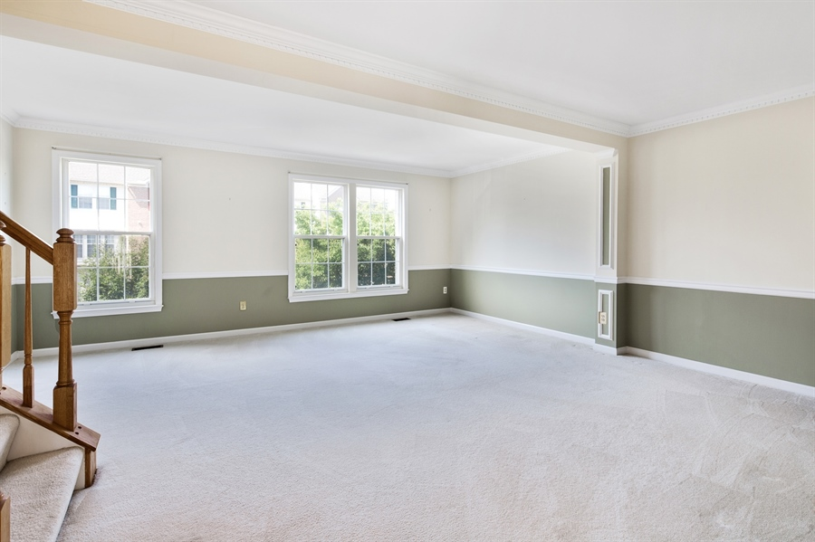 Real Estate Photography - 253 Sloan Ct, Wilmington, DE, 19808 - 2nd Level Living and Dining Room
