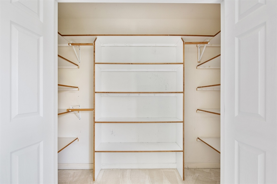 Real Estate Photography - 253 Sloan Ct, Wilmington, DE, 19808 - Custom closet in living room