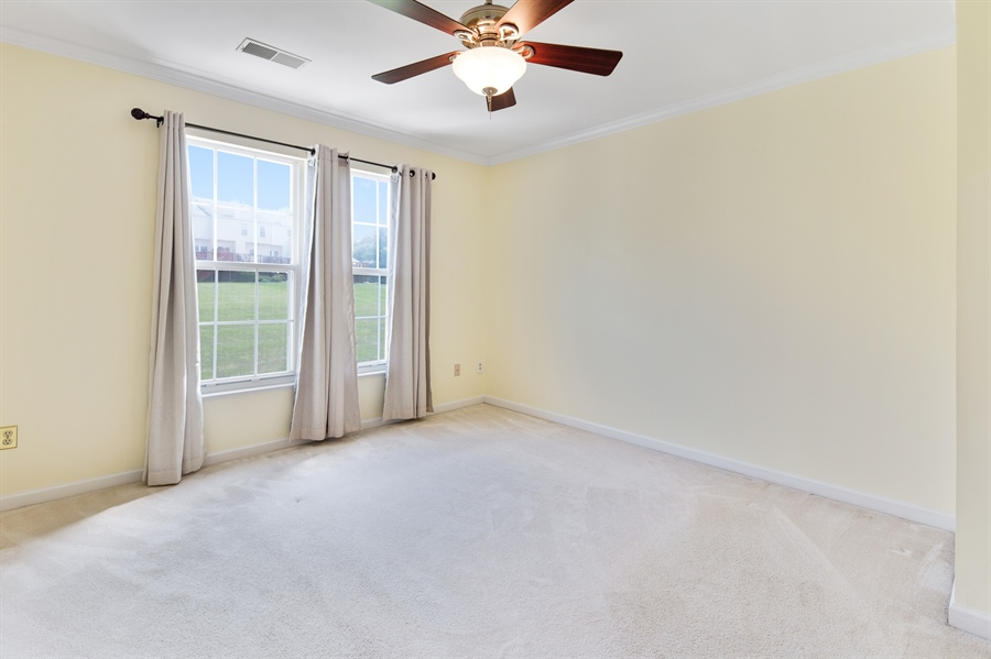 Real Estate Photography - 253 Sloan Ct, Wilmington, DE, 19808 - Master bedroom with crown molding