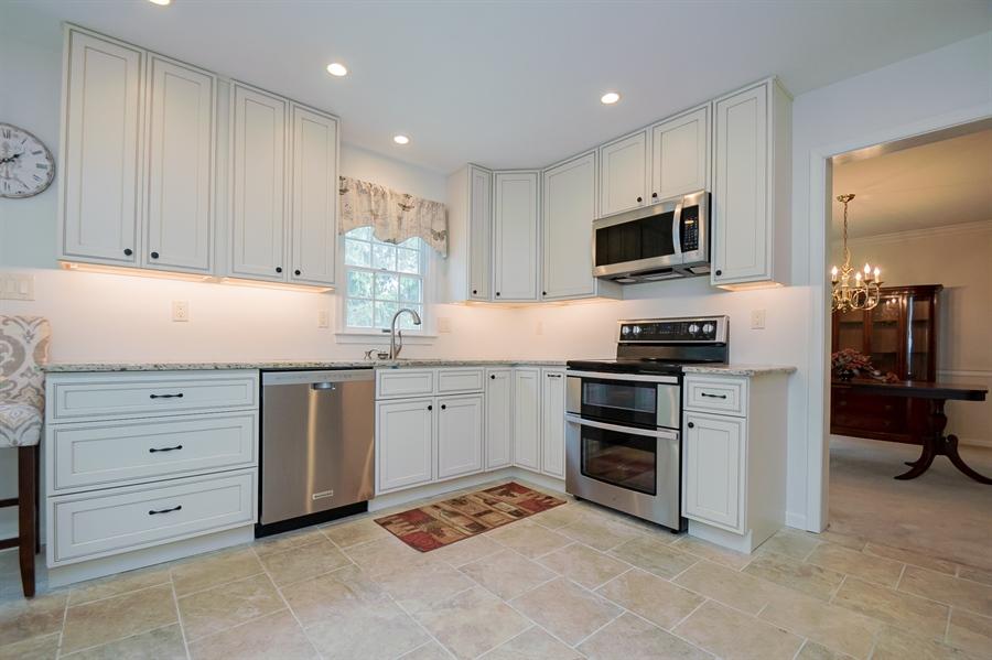 Real Estate Photography - 3 Homestead Ln, Hockessin, DE, 19707 - Recentley Revovated Kitchen