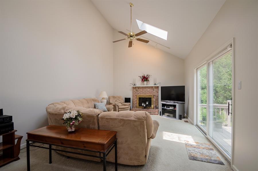 Real Estate Photography - 3 Homestead Ln, Hockessin, DE, 19707 - Freshly Painted Family Room W/ Skylights