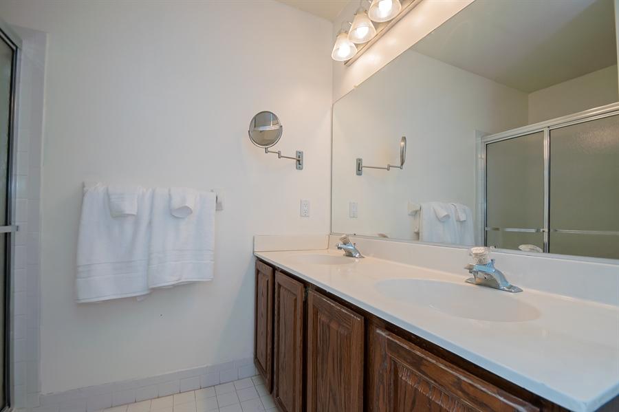 Real Estate Photography - 3 Homestead Ln, Hockessin, DE, 19707 - Master Bedroom Bath W/Double Sinks
