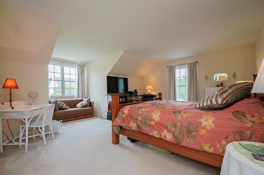 Real Estate Photography - 3 Homestead Ln, Hockessin, DE, 19707 - Second Bedroom W/ Steep Ceiling