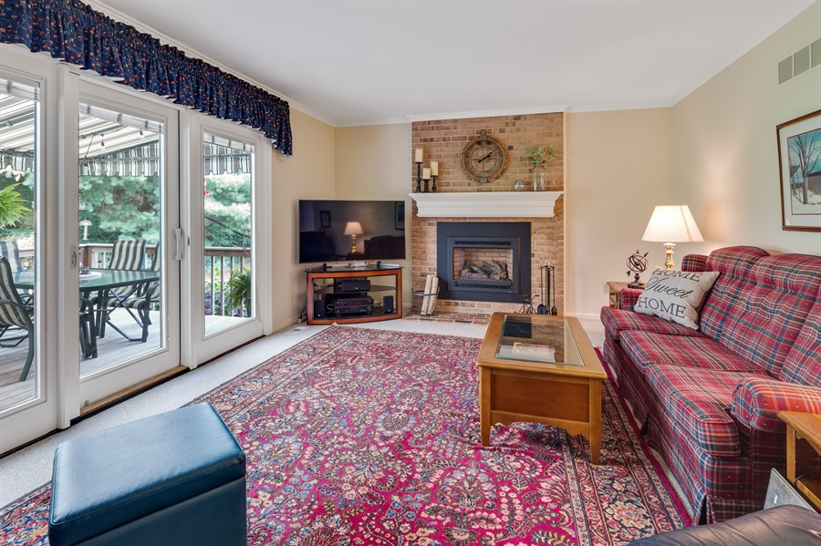 Real Estate Photography - 231 Charleston Dr, Wilmington, DE, 19808 - FR w/Gas Fireplace