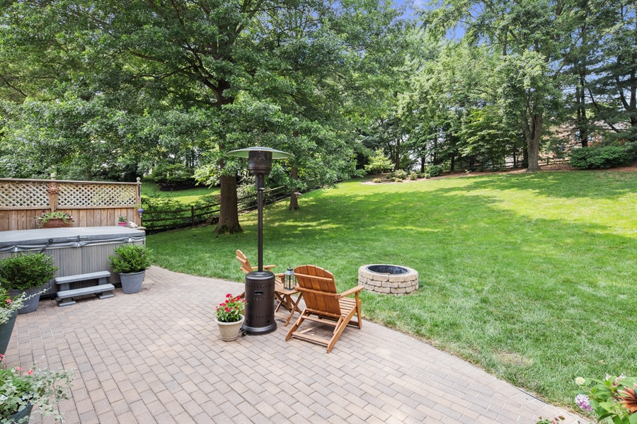 Real Estate Photography - 231 Charleston Dr, Wilmington, DE, 19808 - Brick Patio and Yard