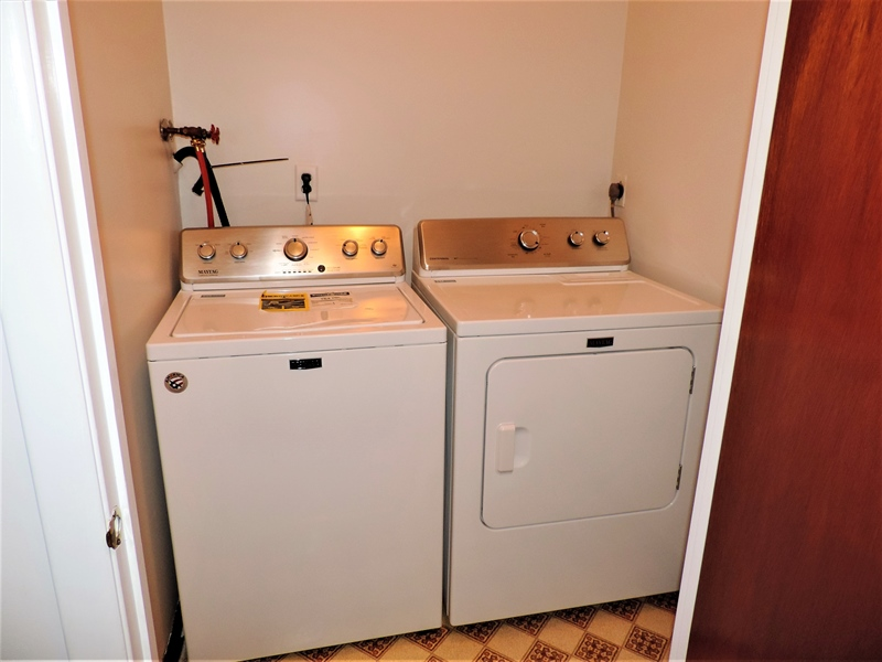 Real Estate Photography - 310 2nd St, Newark, DE, 19711 - Second Floor Laundry!! What a convenience!