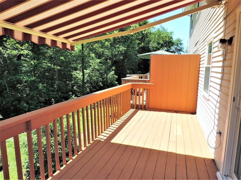 Real Estate Photography - 310 2nd St, Newark, DE, 19711 - Large Deck!