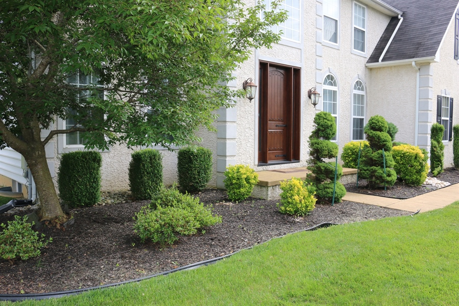 Real Estate Photography - 127 Willow Grove Mill Dr, Middletown, DE, 19709 - Professionally Landscaped