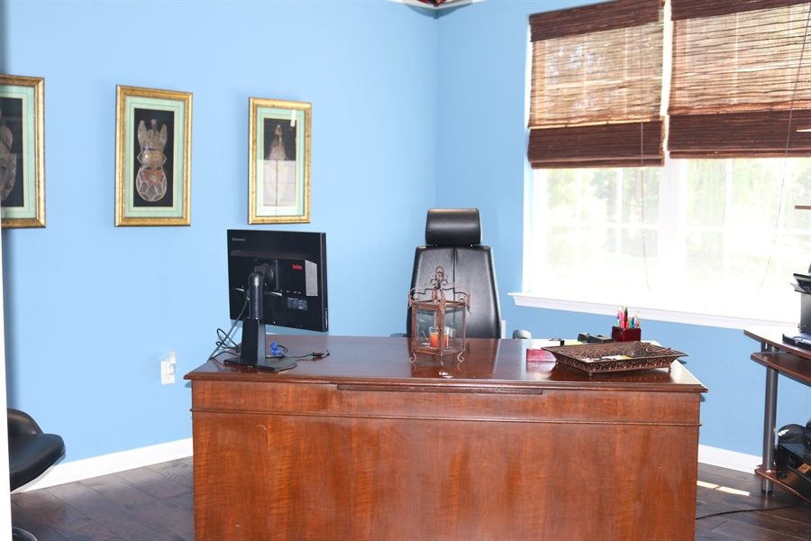 Real Estate Photography - 127 Willow Grove Mill Dr, Middletown, DE, 19709 - Private Study/Office