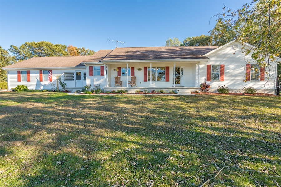 Real Estate Photography - 281 Marjorie Ln, Harrington, DE, 19952 - FROT VIEW OF THE HOME