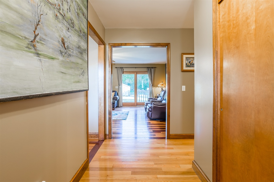 Real Estate Photography - 281 Marjorie Ln, Harrington, DE, 19952 - VIEW FROM THE FOYER TO THE GREAT ROOM