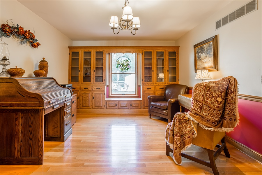 Real Estate Photography - 281 Marjorie Ln, Harrington, DE, 19952 - BEAUTIFUL DINING ROOM WITH AMISH BUILT CABINETRY