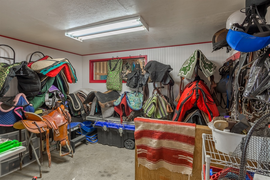 Real Estate Photography - 281 Marjorie Ln, Harrington, DE, 19952 - RENOVATED TACK ROOM READY FOR ALL OF YOUR TACK!