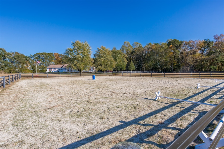 Real Estate Photography - 281 Marjorie Ln, Harrington, DE, 19952 - VIEW OF THE HOME FROM THE BARN
