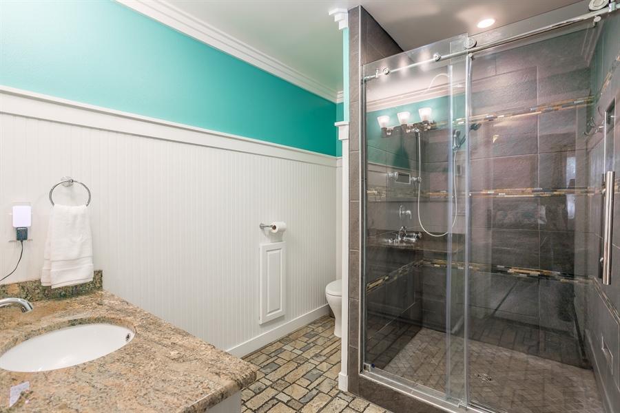 Real Estate Photography - 281 Marjorie Ln, Harrington, DE, 19952 - UPDATED LUXURIOUS BATHROOM IN MAIN BEDROOM SUITE
