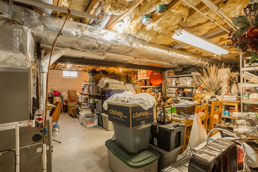 Real Estate Photography - 281 Marjorie Ln, Harrington, DE, 19952 - DRY WALK OUT BASEMENT GREAT FOR EXTRA STORAGE