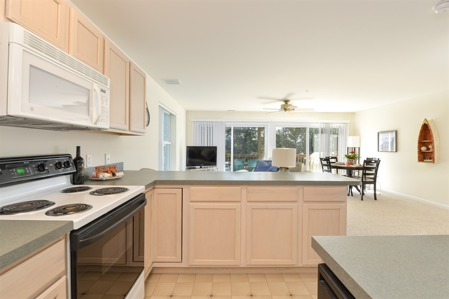 Real Estate Photography - 118 North East Isles Drive, North East, DE, 21901 - Kitchen Looking at Living Area
