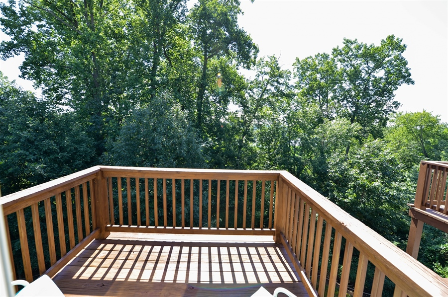 Real Estate Photography - 118 North East Isles Drive, North East, DE, 21901 - Upper Level Deck
