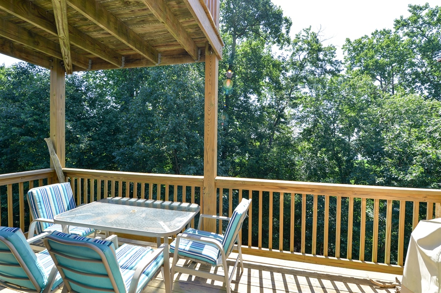Real Estate Photography - 118 North East Isles Drive, North East, DE, 21901 - Main Level Deck