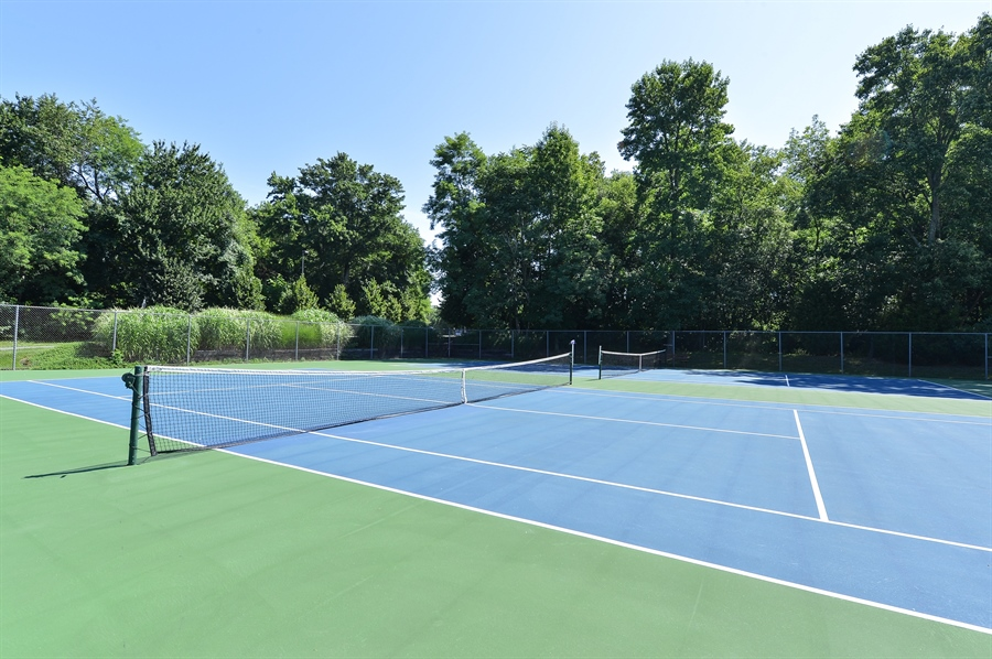 Real Estate Photography - 118 North East Isles Drive, North East, DE, 21901 - Tennis Courts