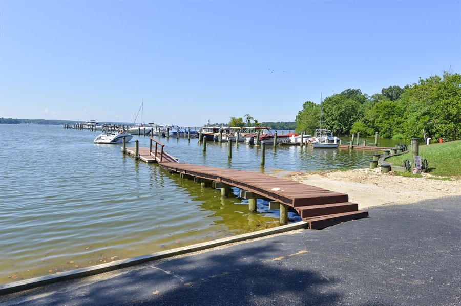 Real Estate Photography - 118 North East Isles Drive, North East, DE, 21901 - Boating Area. Marina in Background