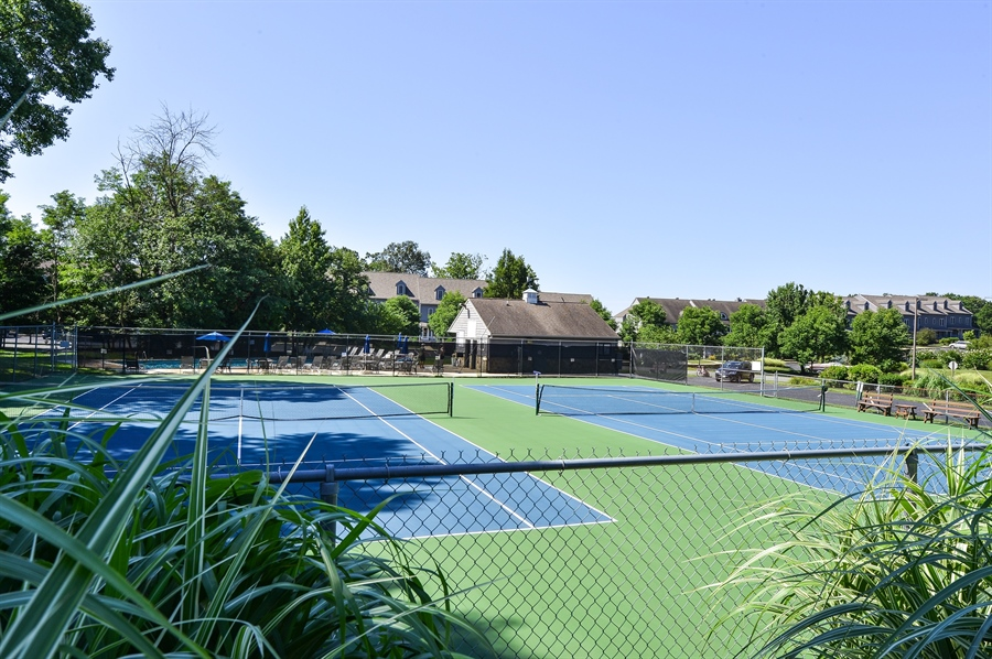 Real Estate Photography - 118 North East Isles Drive, North East, DE, 21901 - Tennis Courts / Pool House