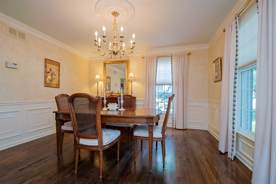 Real Estate Photography - 11 Tenby Chase Dr, Newark, DE, 19711 - Stately Dining Room