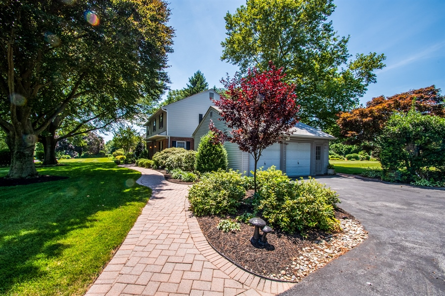 Real Estate Photography - 11 Tenby Chase Dr, Newark, DE, 19711 - Impressive paver entry walkway