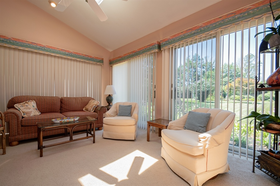 Real Estate Photography - 11 Tenby Chase Dr, Newark, DE, 19711 - Beautiful Sun Room